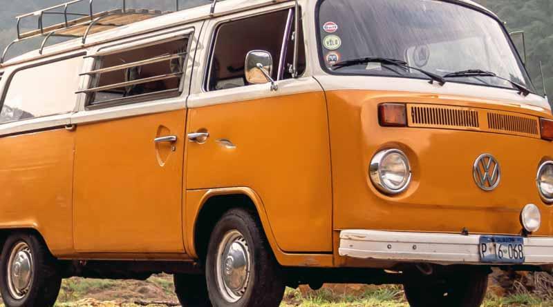 Stary bus wolkswagena